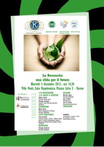 Kiwanis locandina  La Decrescita 03.12.13_001