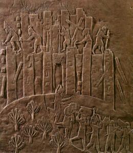Foto 5 Il saccheggio e la distruzione della città di Susa da parte degli Assiri