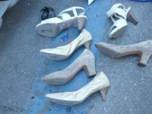 Foto 1 Tre paia di scarpe da donna