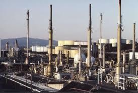 Impianti di raffinazione del petrolio