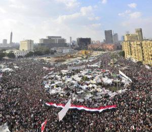 Piazza Tahrir a Il Cairo